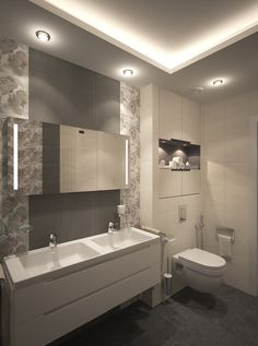 Modern Master Bathroom, Small Bathroom, Luxury Interior, Home Interior Design, Sauna Design, Toilet Design, Dream House Plans, Modern House Design, Bathroom Inspiration