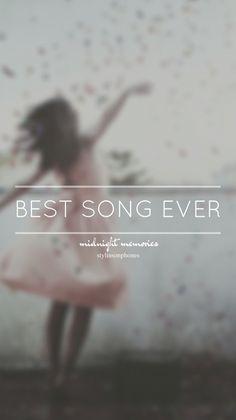 Best Song Ever • Midnight Memories Lockscreen — ctto: @stylinsonphones