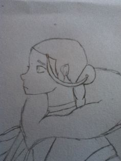 Just a drawing of Katara, by me :3