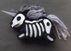 Skelly Plushies - Unicorn (Stuffed)_image