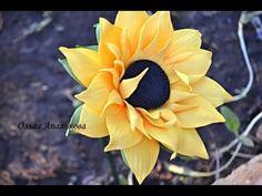 Мастер-класс по созданию бутона розы из фоамирана. Автор Ольга Апалькова