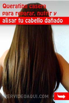 Queratina casera para reparar, nutrir y alisar tu cabello dañado Beauty Tips For Skin, Beauty Hacks, Hair Beauty, Mane Hair, Tips Belleza, Hairstyles Haircuts, Hair Makeup, Hair Cuts, Long Hair Styles