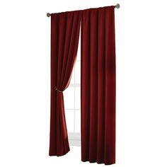 Velvet Blackout Curtain Panel : Target