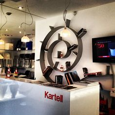 The Kartell Bookworm Shelf By Ron Arad | Ron arad, Shelving and ...