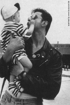 Dave Gahan + Jack Gahan.. love ♡