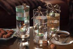 VÁNOČNÍ DEKORACE Z FORMIČEK - Inspirace od decoDoma Candle Holders, Kitchen Appliances, Jar, Candles, Home Decor, Diy Kitchen Appliances, Home Appliances, Decoration Home, Room Decor