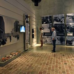 "The Holocaust History Museum - The ""Final Solution"": The sixth gallery, the…"