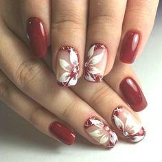 Nail Art Designs, Beauty, Nails, Gel Nails, Nail Polish, Manicure, Color, Envy, Red