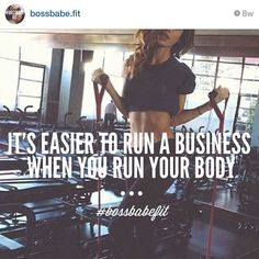 #BOSSBABE™ Introducing @bossbabe.fit on instagram!
