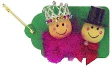 This SWAP is perfect if your learning about a country that has a King and Queen for your Girl Scout World Thinking Day or International celebration. Directions available at MakingFriends.com