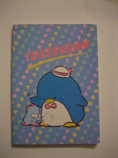 Vintage notebook Tuxedo Sam  80 Sanrio BRAND NEW by vispateresa,  5.50 e8a17fff39