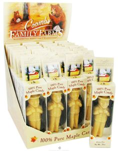 Coombs Family Farms - 100% Pure Maple Candy Man - 0.75 oz