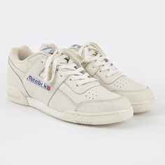 Reebok Workout Plus Vintage - Chalk/Classic White/Red (Image 1)