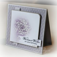 warmest wishes, so soft and pretty card