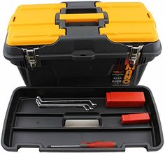 Mano MG 19inch Trade Quality Toolbox with Full Metal Hinge Rod Plus Removable Organiser Tray and Lid Organiser by Mano ** Read more reviews of the product by visiting the link on the image.