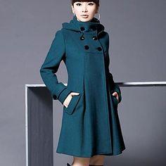 Frauen reine Pullover Zweireiher Mode outwear mehr Farben - EUR € 24.54