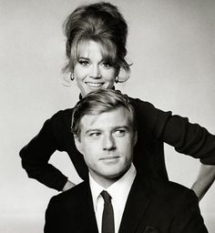 Robert Redford & Jane Fonda-- love Barefoot in the Park