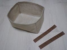 Fabric Bowls and Baskets Tutorial. Diy Burlap Baskets.