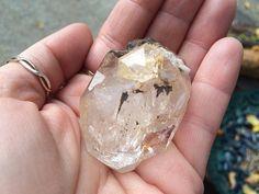Large Natural Herkimer Diamond specimen by TheSageGoddess, $60.00
