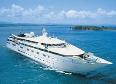 Tere Moana, Paul Gaugin Cruise Lines Tere Moana offers 45 luxurious, oceanview staterooms, eight of which feature balconies. Luxury Cruise Lines, Panama Canal, Paul Gauguin, Luxury Yachts, French Polynesia, South Pacific, Tahiti, Places To See, Caribbean
