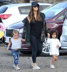 North West Easter: Kim Kardashian takes daughter Nori and niece Penelope on cute egg hunt...