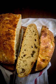 no-knead bread 6 No Knead Bread, Cooking, Recipes, Food, Kitchen, Essen, Meals, Ripped Recipes, Eten