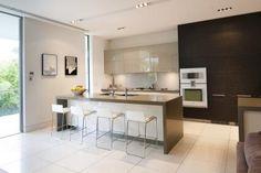 Modern kitchen with 2 islands from Kitchen Trends volume 2802