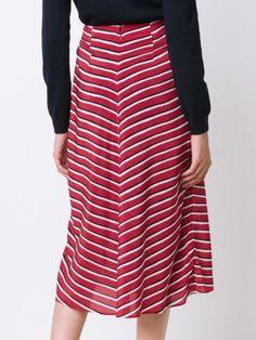 Altuzarra полосатая юбка