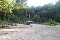 I love the beach but living in Indiana means this is the closest thing I have, I guess I can't complain.- at Marott Park