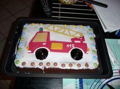 Feuerwehrauto Kuchen Rezept Backideen Pinterest Kuchen