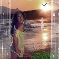 Cantinho de Imagens da Guerreira: Praia
