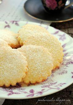 Biscotti al cocco e yogurt, Terry Tanti Biscotti Cookies, Yummy Cookies, Cookie Recipes, Dessert Recipes, Desserts, Coconut Flour Recipes, Coconut Biscuits, Coconut Cookies, Italian Cookies
