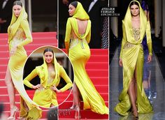"""WHO: Irina Shayk WHERE & WHEN: """"The Search"""" Premiere during the 67th Annual Cannes Film Festival on May 20, 2014. WEARING: Atelier Versace - See more at: http://thefashion-court.com/tag/67th-annual-cannes-film-festival/#sthash.mJYAAM9H.dpuf"""