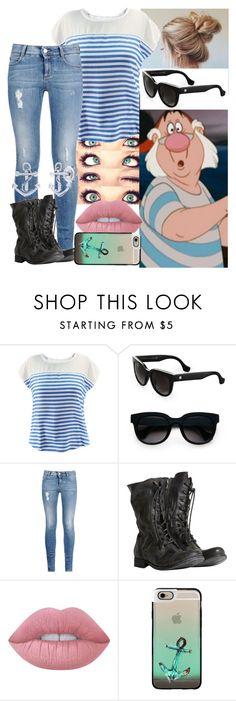 """""""Mr. Smee - CASUAL"""" by blackest-raven ❤ liked on Polyvore featuring Balenciaga, STELLA McCARTNEY, AllSaints, Lime Crime, Casetify and BERRICLE"""
