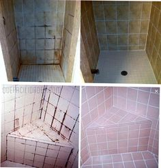 Maximum Cleaning: Impeccable Leave the bathroom tiles with this mix Homemade | What happen?