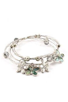 Mother of Pearl Butterfly Bracelet