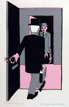 Pushwagner - En dag i familien Manns liv: nr 9 - Goddag herr Mann James Rosenquist, Friday Day, Jasper Johns, Live, Thesis, Art Art, Scandinavian, Paint, Pop