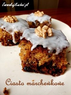 Ciasto marchewkowe – Zasmakuj Kuchni Banana Bread, Cooking Recipes, Fit, Baking, Cooker Recipes, Food Recipes