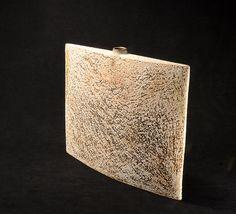 Flask Wedge Form Flask, Wedges, Sculpture, Ceramics, Ceramica, Pottery, Sculptures, Ceramic Art, Sculpting