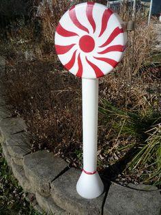 "Union Peppermint Lollipop Christmas Blow Mold 34"" Outdoor Plastic Light Up | eBay"