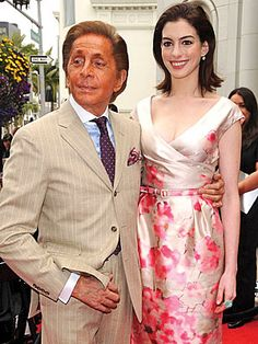Italian designer Valentino has enjoyed decades as one of Hollywood's favorite designers, and Thursday he became a permanent fixture in Beverly Hills with a coveted induction into the Rodeo Drive Walk of Style.