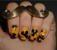 31DC2012: Day 3: Yellow Nails