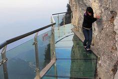 A Glass Walkway 4000 Feet High