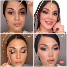 Three glamorous makeup looks for you to try 😍 By @makeup_saparova Uk Makeup, Beauty Makeup, Makeup Looks, Fall Makeup, Makeup Online, Makeup Set, Sephora Makeup, Makeup Tips, Face Contouring Makeup