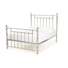 This hand crafted Napoleon bed, beautifully finished to the highest standard, combines contemporary elegance with a classical slant. Dream Apartment, Apartment Interior, Wrought Iron Bed Frames, Tubular Steel, Metal Beds, Ceiling Height, Napoleon, Luxury Bedding, Toddler Bed