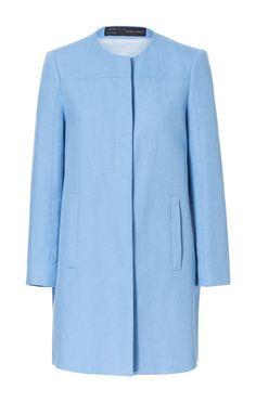 LINEN COAT from Zara