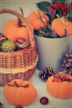 Wicker Baskets, Vegetables, Pattern, Home Decor, Crochet, Amigurumi, Decoration Home, Room Decor, Patterns