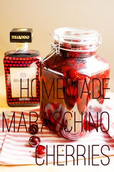 Homemade Maraschino Cherries Make the most of your cherries in the garden with this easy recipe.