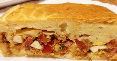 Cake aux sardines et lardons Cake Rapide, Un Cake, Sandwiches, Food, Brazilian Cuisine, World Cuisine, Essen, Meals, Paninis