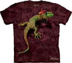 Camiseta - The Mountain - Peace Out Gecko